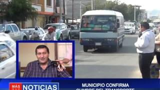 MUNICIPIO CONFIRMA CUMBRE DEL TRANSPORTE