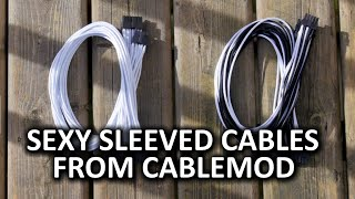 CableMod C-Series Individually Sleeved Cables - Sexy and Simple