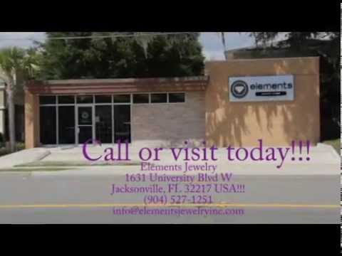 Commercial for Elements Jewelry Store. Jax, Fl.
