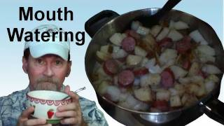 Easy Cooking Delicious Down Home Potato And Onion Recipe - Pirate Lifestyle Tv ™ Quickie 050