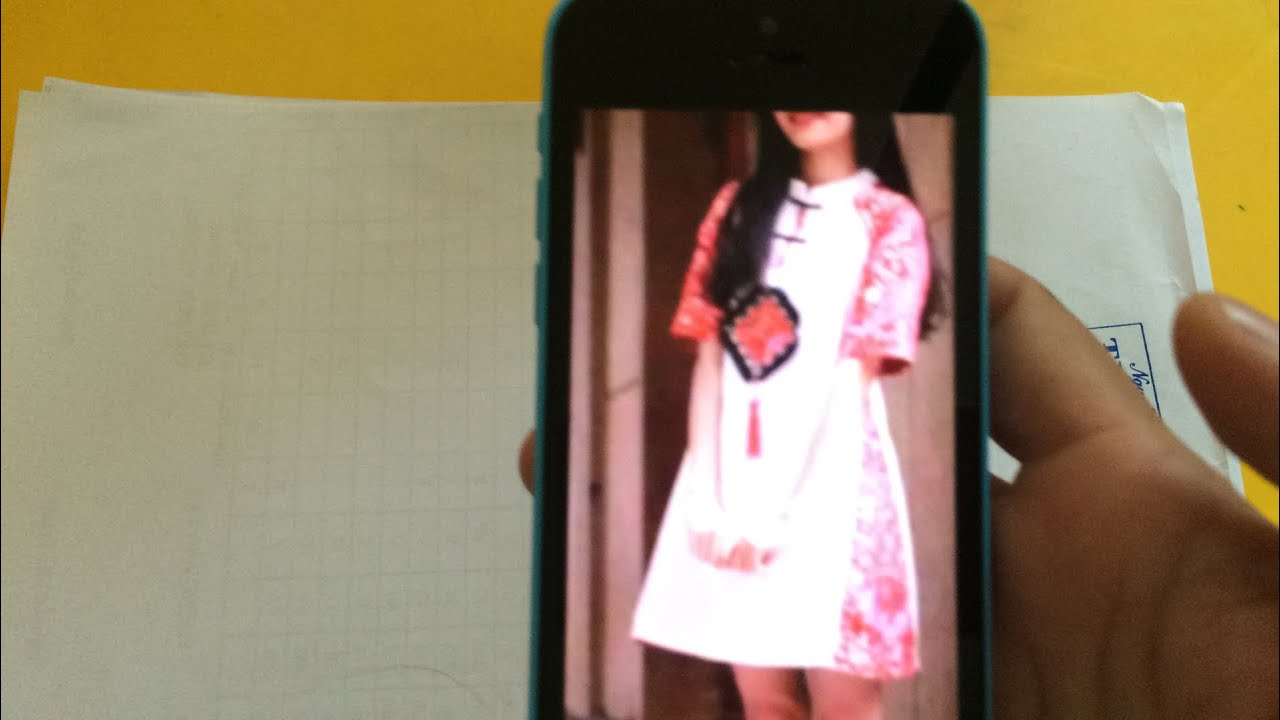 317-thiết kế áo đầm tay raglan