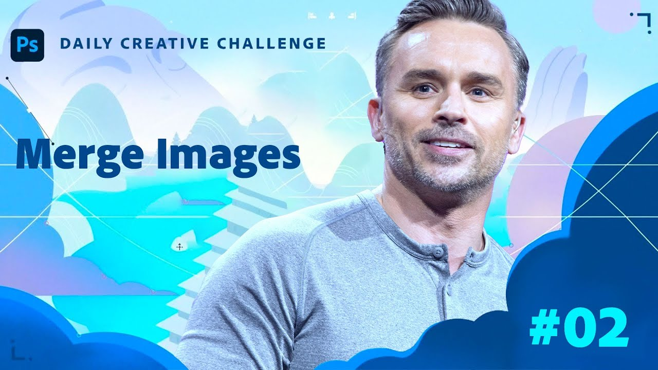 Photoshop Daily Creative Challenge -  Merge Images