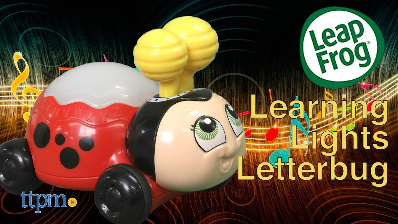 5fd744f6cc6e Learning Lights Letterbug from LeapFrog - YouTube