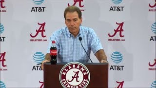 Nick Saban calls out reporter over Jalen Hurts question | ESPN