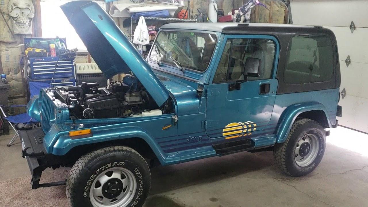 1992 Jeep Wrangler Islander Not For Sale Youtube