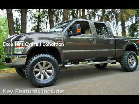 2008 Ford F-350 Lariat 4x4 POWESTROKE Diesel Leather Lifted 20 37S for sale in Milwaukie, OR