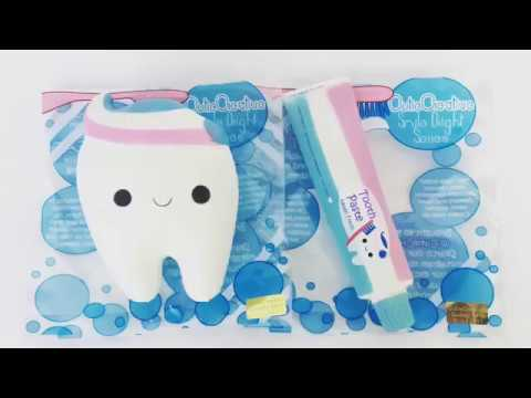 Cutie Creative Smile Bright Series (Tooth & Toothpaste) [Squishy] - YouTube