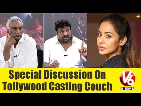 Special Discussion On Tollywood Casting Couch | Sri Reddy Leaks | V6 News