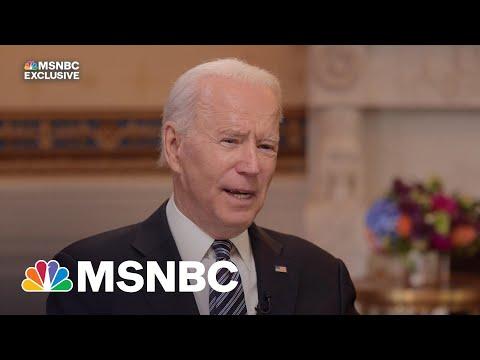 Exclusive: Biden Stresses Bipartisan Goal Of Infrastructure Plan