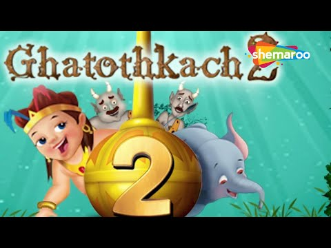 Ghatothkach 2 (Hindi) - Exclusive Full Length Movie - Animated Movies For Kids - HD