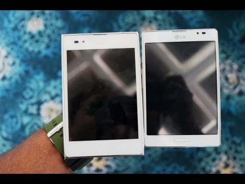 Comparison of LG Optimus Vu and Optimus Vu II 2 full HD