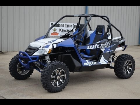 2014 Arctic Cat Wildcat X Viper Blue $18,499 Overview and Review ...