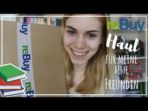 REBUY HAUL / ICH BESTELLE MEINER BESTEN FREUNDIN BÜCHER  :O / Neuzugänge, Unpacking | booklove Toni