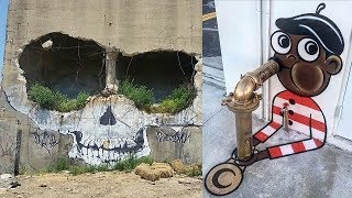"Top 10+ ""Wow"" Examples of Street Art That Made Us Gasp"