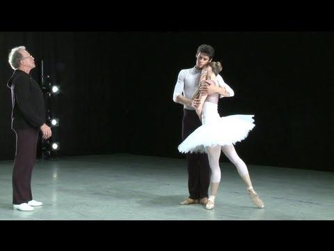 Swan Lake - in rehearsal (The Royal Ballet)