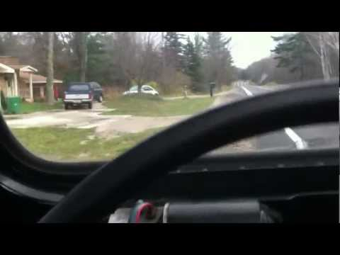 Short Clip Of Mercedes Turbo Diesel Conversion CJ7 Jeep