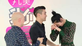 siwon liu wen unaired ep5 tango dance elle photoshoot