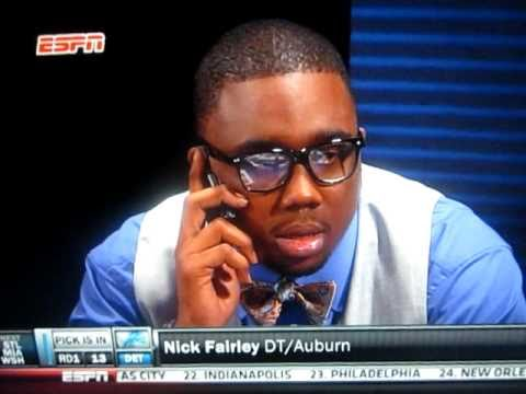 Detroit Lions Draft DT Nick Fairley #13 Overall in 2011 NFL Draft