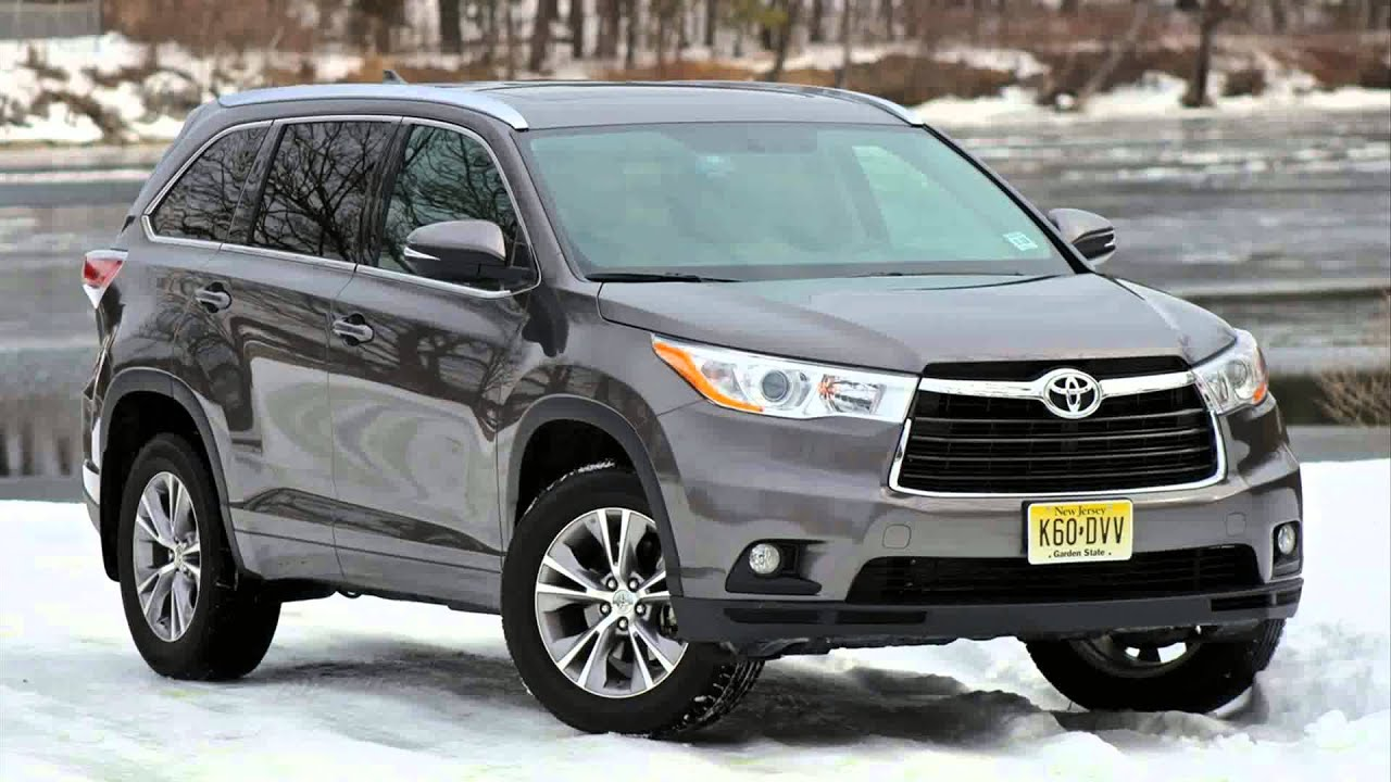 2015 Model Toyota Highlander Hybrid Youtube