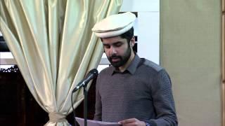 Gulshan-e-Waqfe Nau (Khuddam) Class: 3rd March 2013 (Urdu)