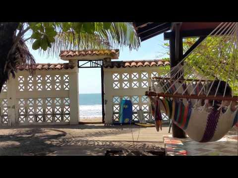 Casa Cueva del Tigre beach house in Las Pienta Nicaragua Hour and half