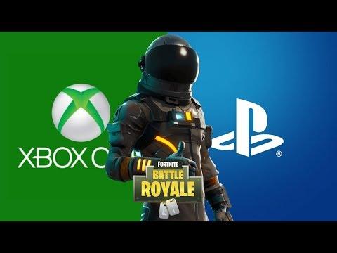 CROSS-PLAY ENTRE PS4 E XBOX, SAIBA COMO FUNCIONA! - Fortnite