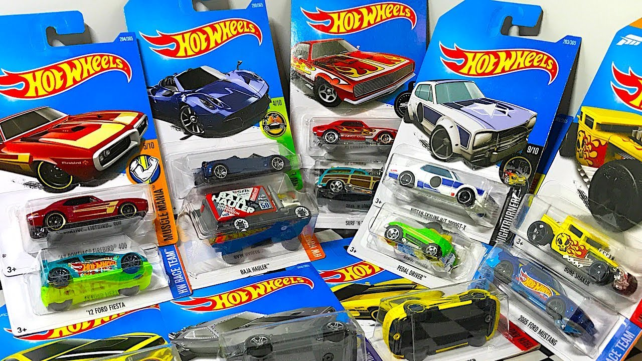 Opening Some Hot Wheels Toy Cars! - YouTube