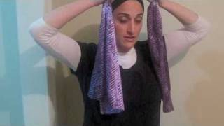 NEW - 3 BRAND NEW Head Scarf - Tichel Tying Guide