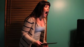 Psycho Girlfriend Breaks iPad
