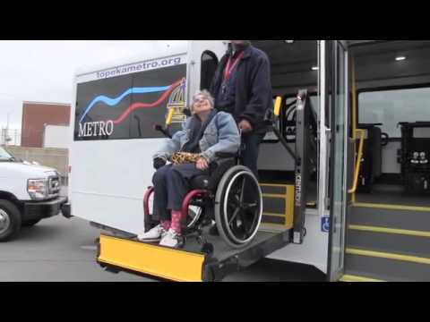 New Paratransit lift vehicle