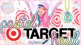 PASTEL TARGET HAUL! Cute Pastel Homeware, Tamagotchi, Shoes, & more!