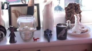 Spring Equinox (Ostara) Witches Altar 2017 with Equinox message and... singing!