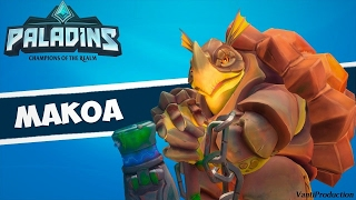 Makoa Front Line !!!! Paladins of the realm.
