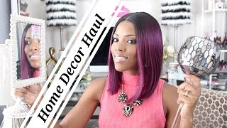 ♥ Glam Home ♥ Home Decor Haul pt 1 ♥ Giveaway