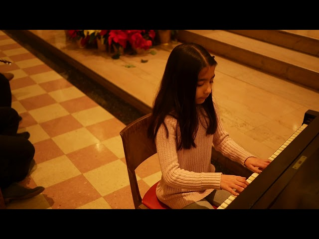 Layla (9) performs Variations on a Stephen Foster Theme