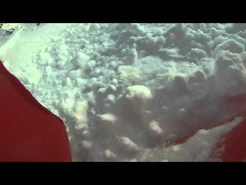 Valanga San Pellegrino 07 02 2015, salvato dall'airbag