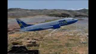 TAM-Transporte Aereo Militar-Bolivia departs La Paz (FS2004)
