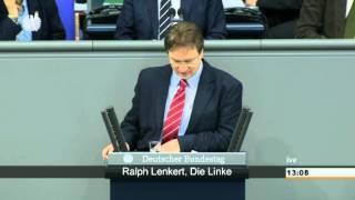 Ralph Lenkert, DIE LINKE: Nichts zu hören von Risikoforschung