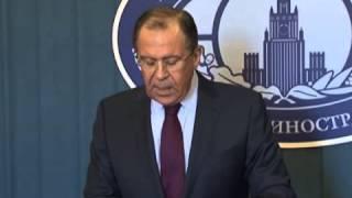 Заявление Министра иностранных дел Российской Федерации С.В.Лаврова по поводу решения Президента ...