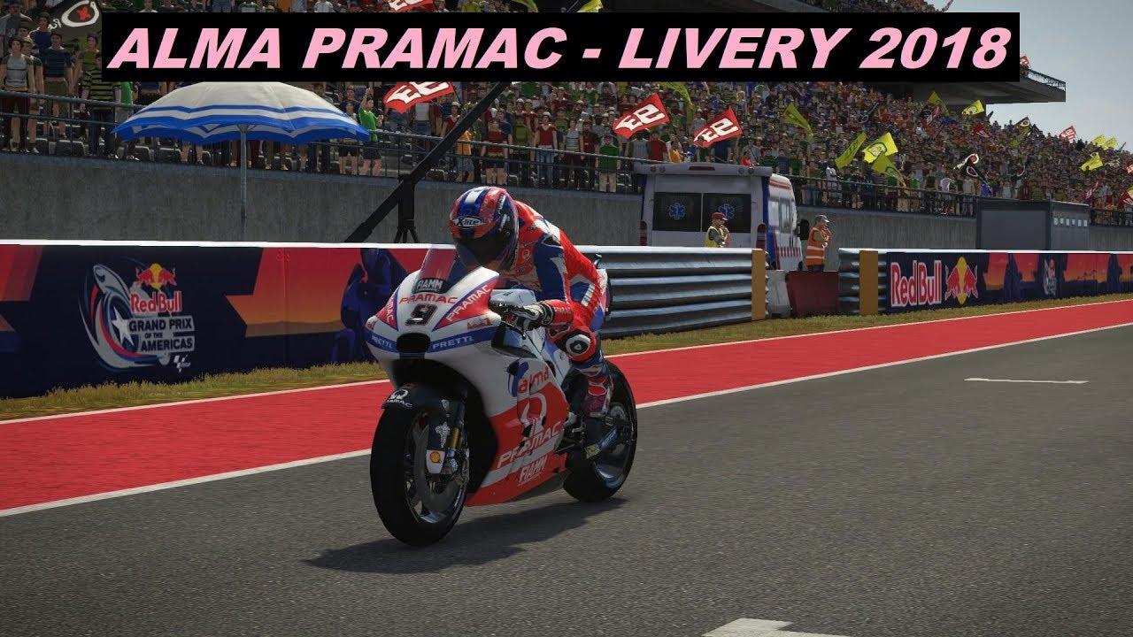 MotoGP 2018 Mod   Danilo Petrucci   Alma Pramac Ducati 2018   PC GAME - YouTube