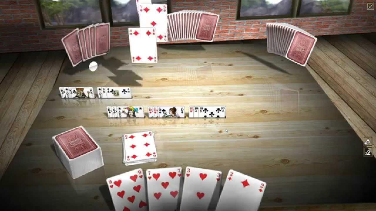 Kartenspiele Romme