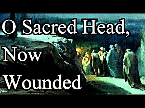 O Sacred Head, Now Wounded / Christian Hymn with Lyrics / Choir - J. S. Bach