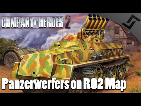 Panzerwerfers on RO2 Map - Company of Heroes 2 - Spearhead Mod