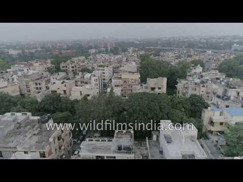 lajpat-nagar---punjabi-enclave-of-south-delhi:-aerial-perspective