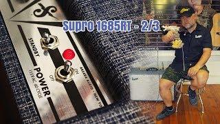 Supro® Amplificador Guitarra Combo 1685RT Neptune Reverb 25 Watt  2x12 Tubo video