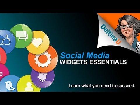 Social Media Widgets Essentials