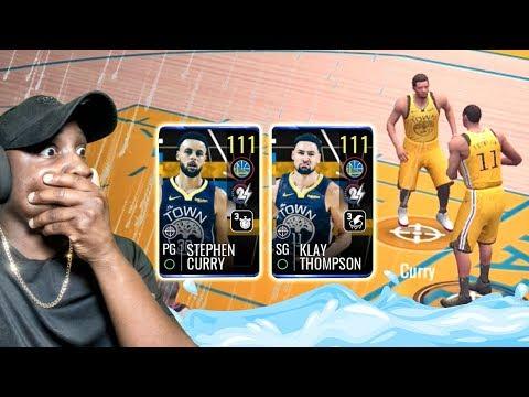 111 OVR SPLASH BROTHERS RAINING 3-POINTERS! NBA Live Mobile 19 Season 3 Ep. 154