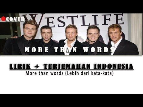 Cover More Than Words | Lirik dan Terjemahan