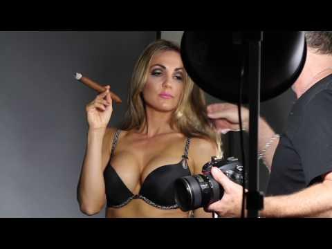 Cigar Vixen Calendar Behind the Scenes Fun