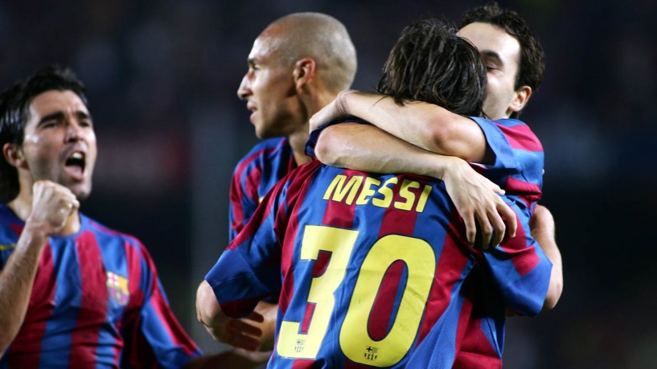 Highlights FC Barcelona v Juventus (2-2, Gamper Trophy 2005) - YouTube